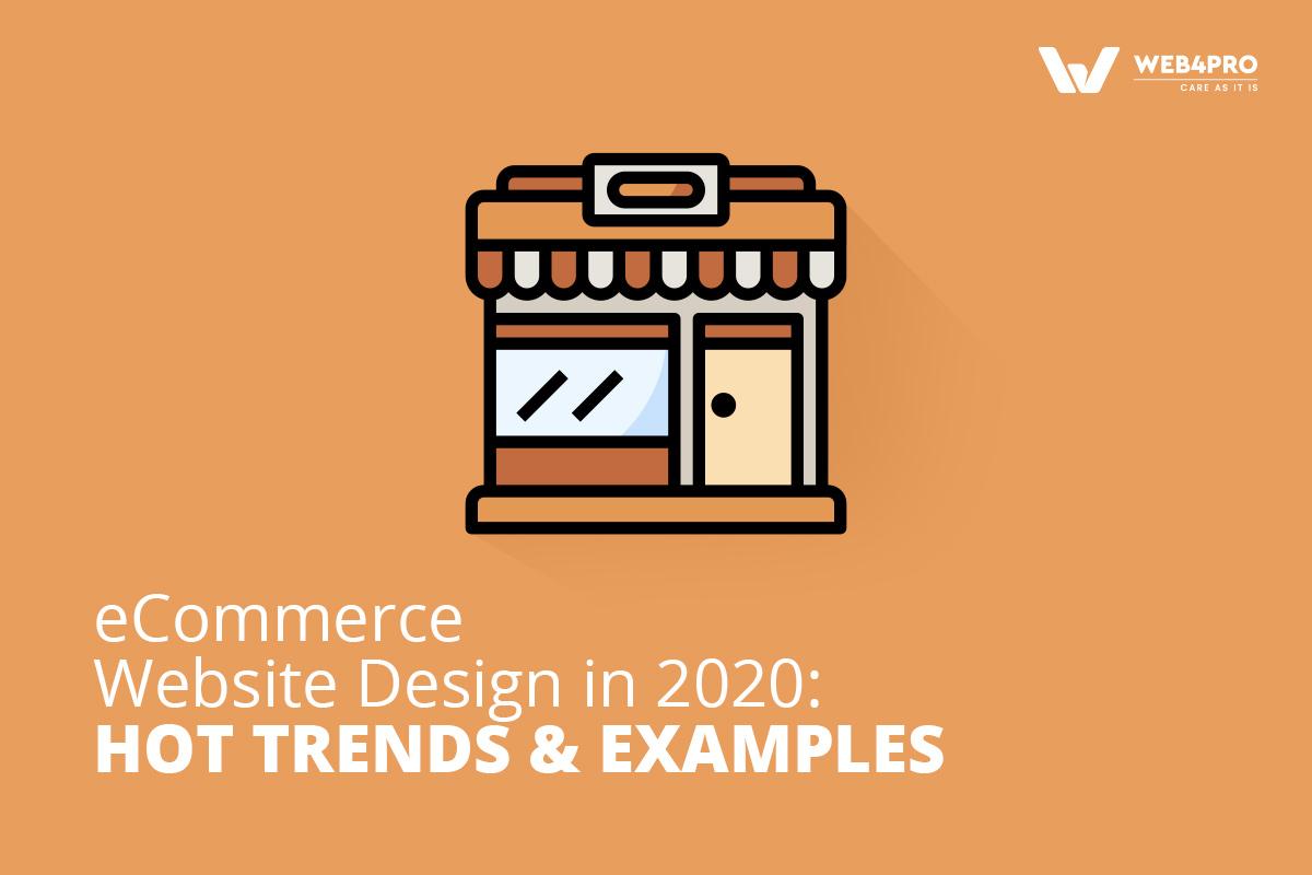 eCommerce website design 2020