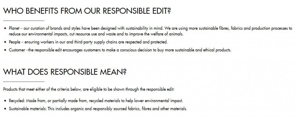 ASOS responsibility edit