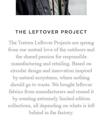 Tretorn's Leftover Project