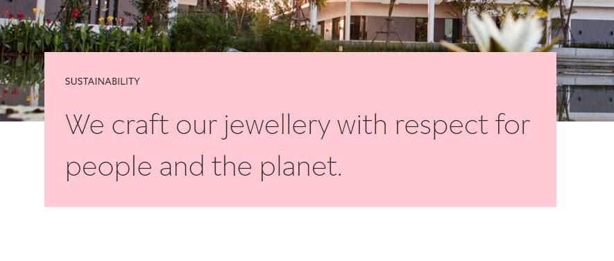 Pandora's commitment to sustainability