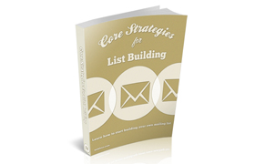Core Strategies For List Building