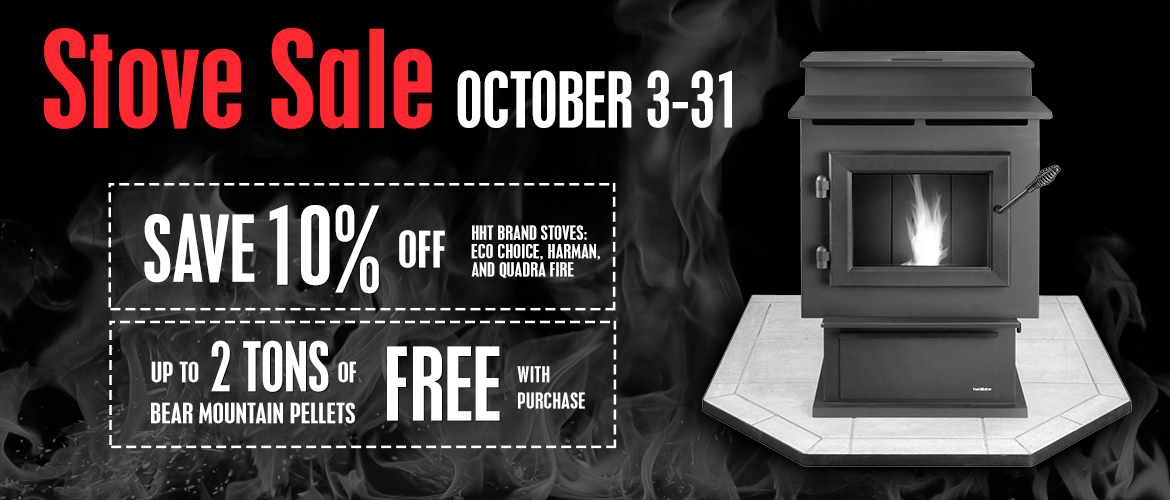 October Stove Sale