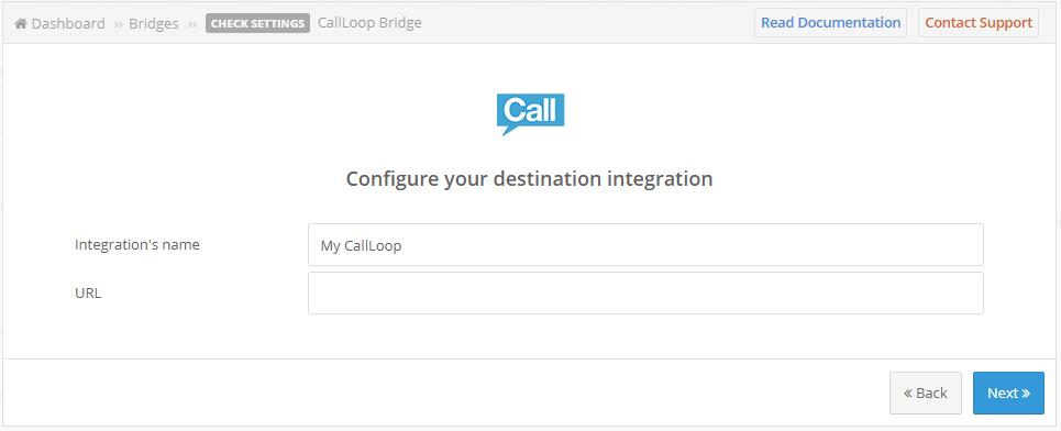 call loop creation
