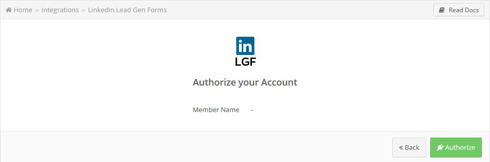 LinkedIn Lead Gen Forms creation