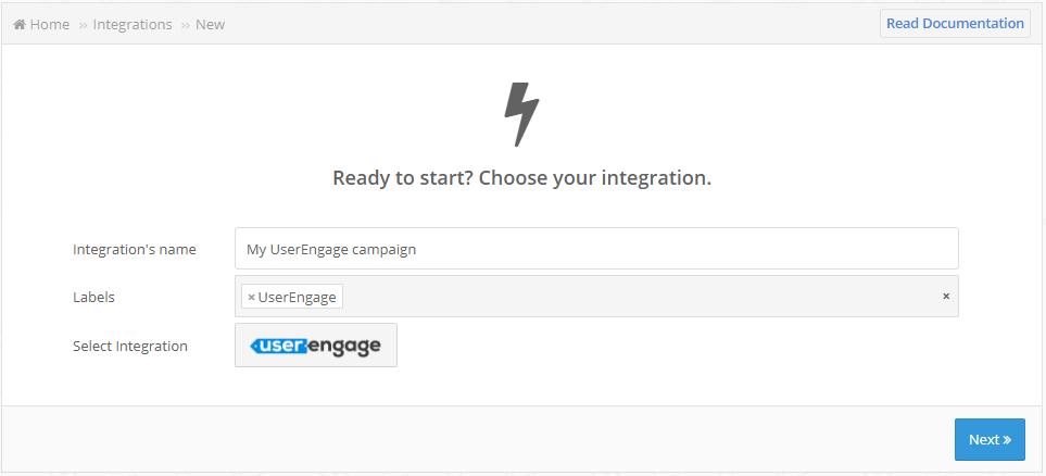 user engage creation