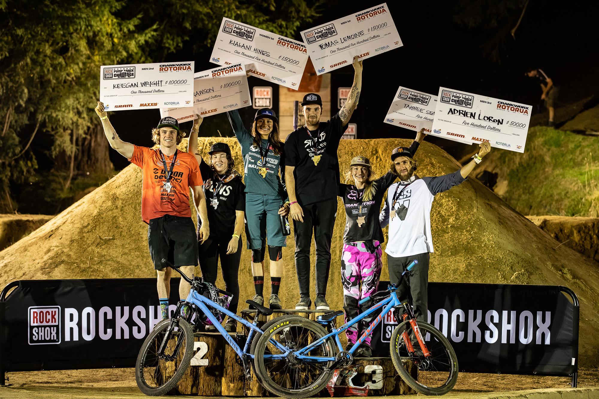 RockShox Rotorua Pump Track Challenge