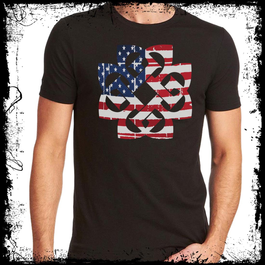 Usa Flag T Breaking Benjamin