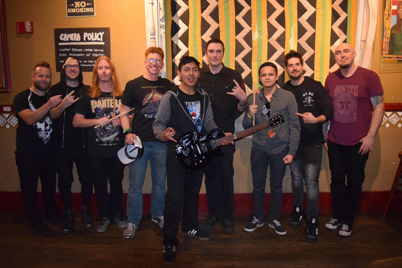Vip Meet Greet Photos House Of Blues Anaheim Ca Breaking
