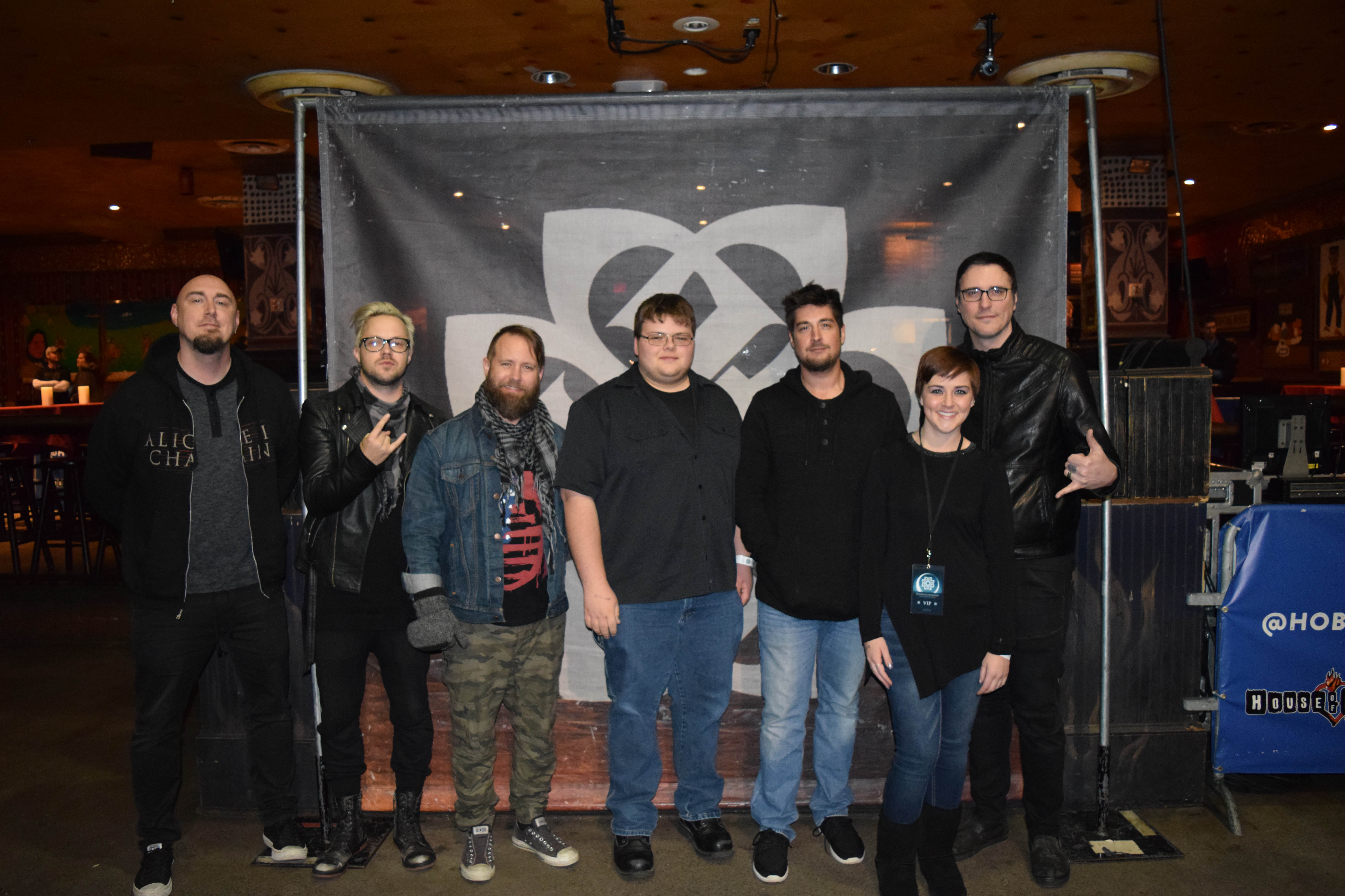 vip meet & greet photos - house of blues - cleveland, oh