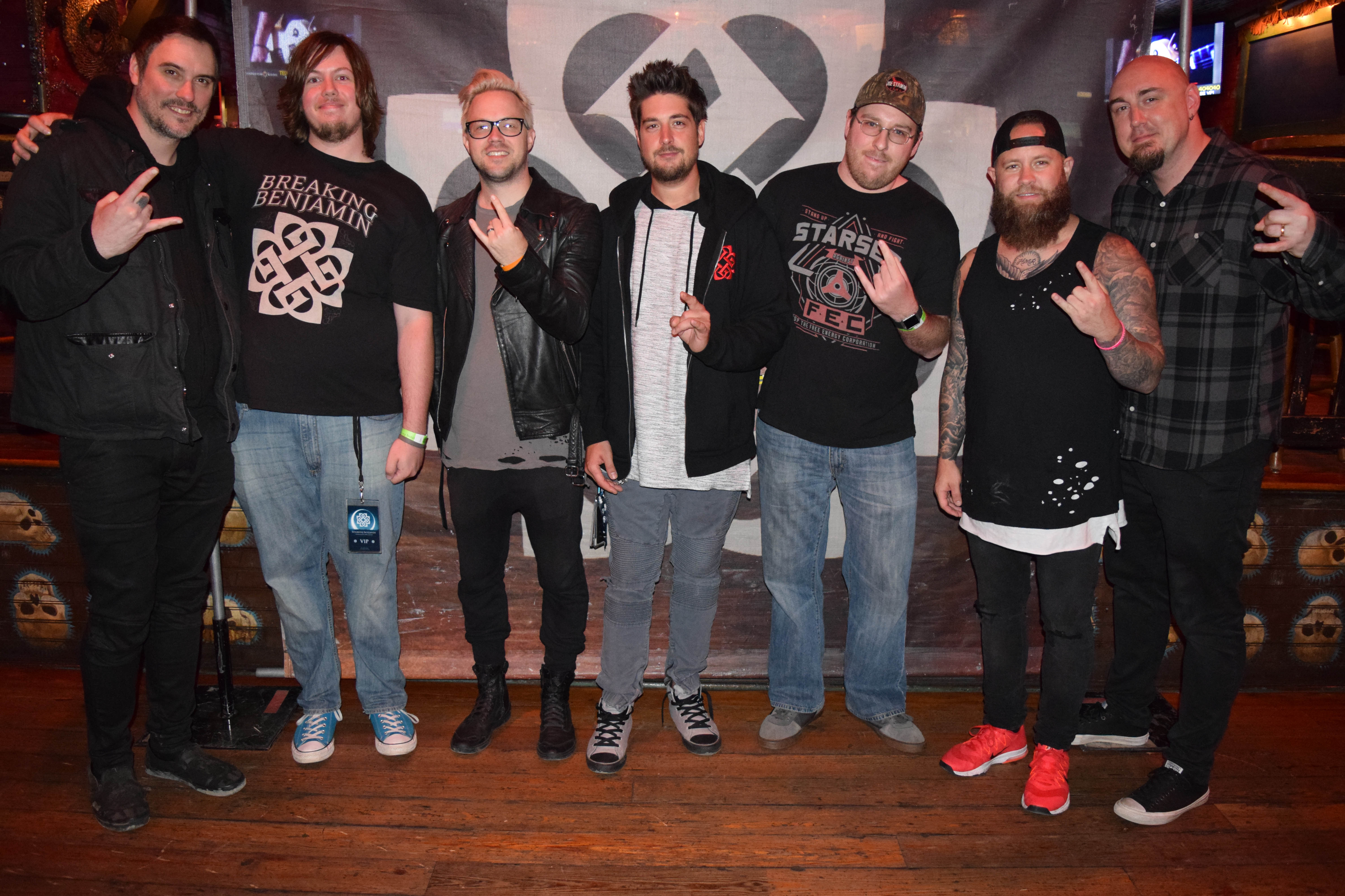 Vip Meet Greet Photos House Of Blues Chicago Il Breaking