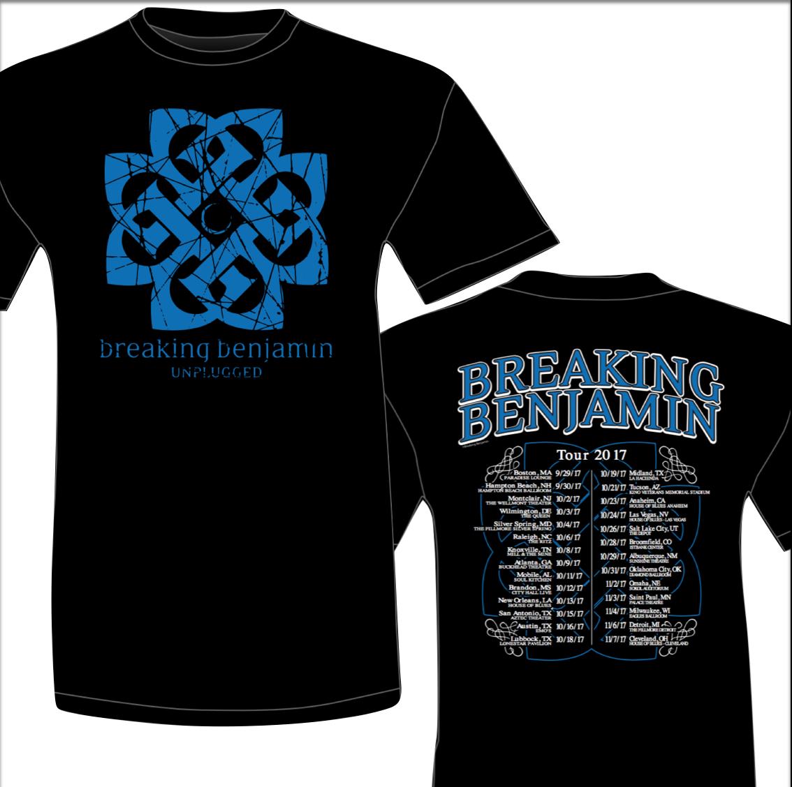 Breaking Benjamin  Tour Shirts