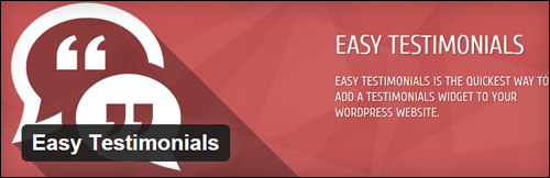 Easy Testimonials - WordPress Testimonials Plugin