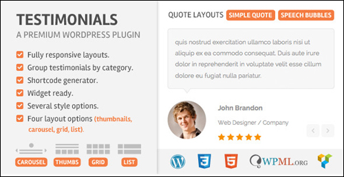 Testimonials WordPress Plugin