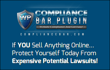 Compliance Bar Plugin - WP Compliance Plugin