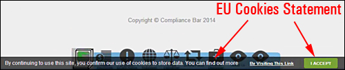 Compliance Bar Plugin - WordPress Compliance Plugin