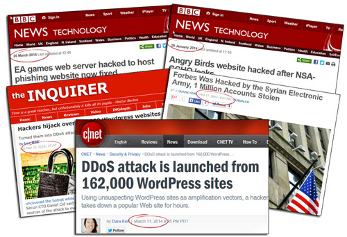 Thousands of websites and blogs are hacked every year! Could your website be next?