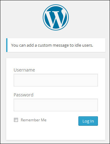 WP Idle Logout - Automatically Log Out Idle Users