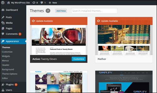 WordPress Theme Management: Upgrading Your WP Themes