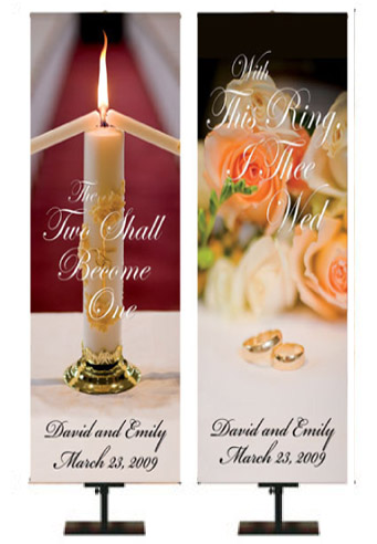 Personalized Wedding Banners