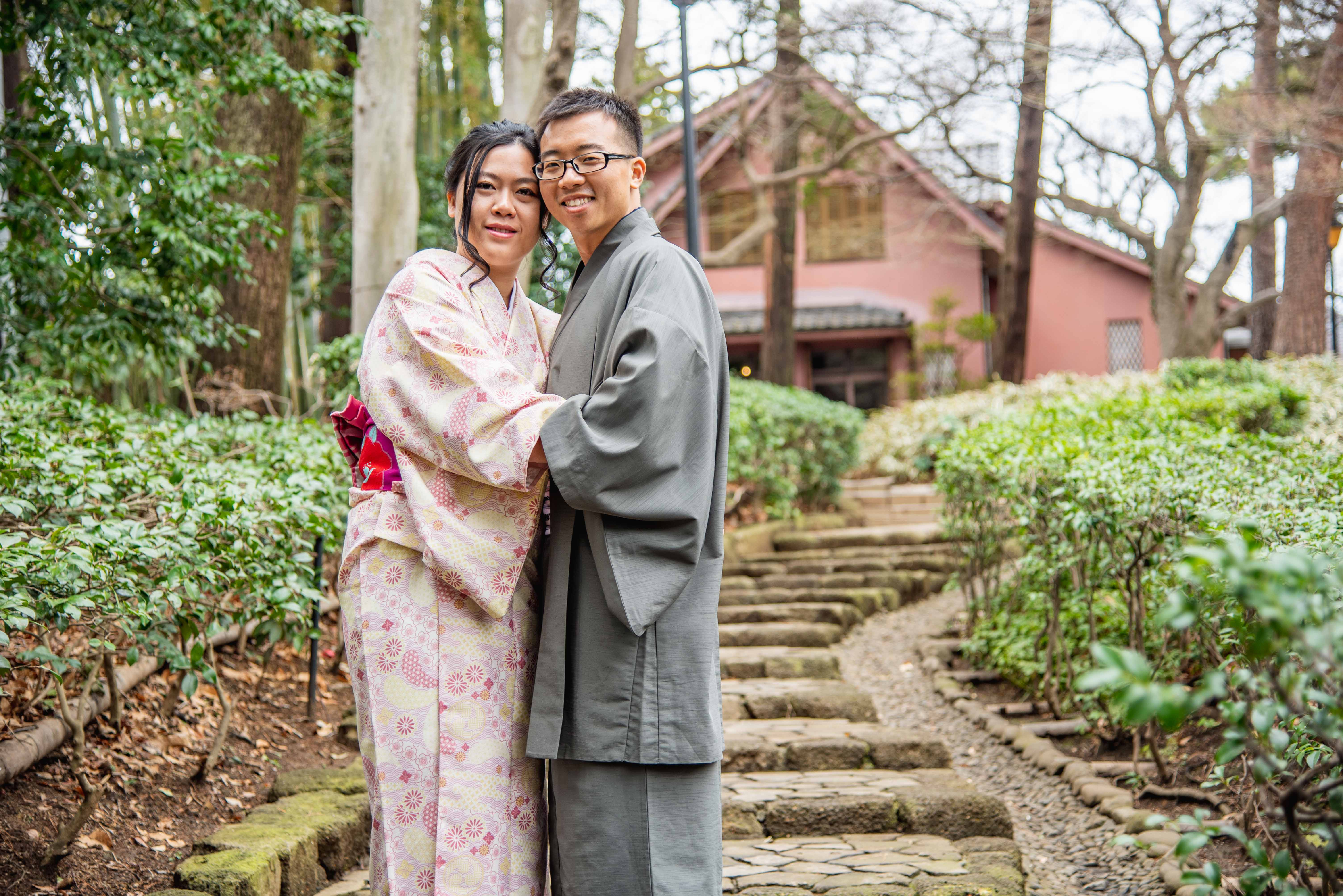 Kimono Photo Shoot in Tokyo