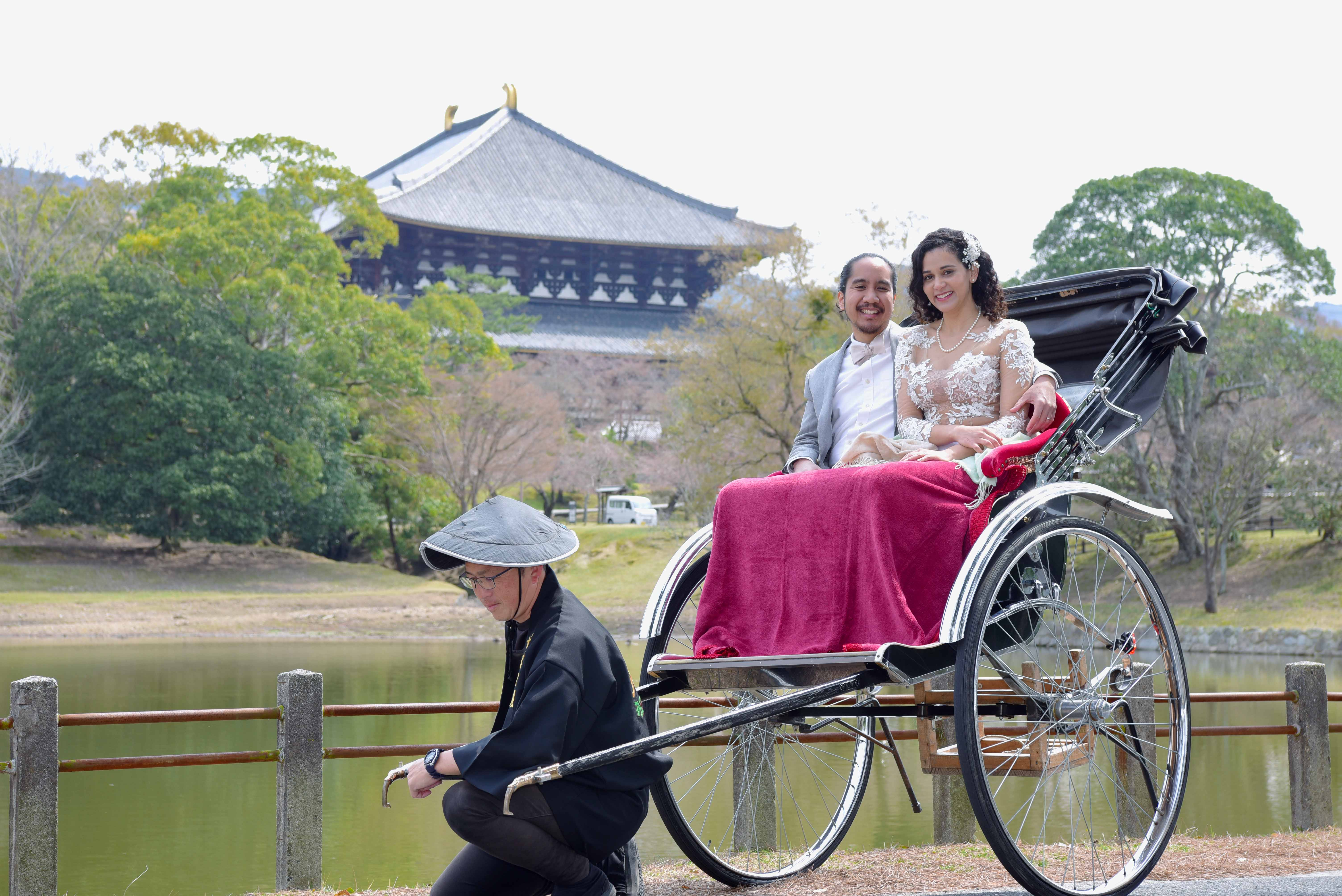 Rickshaw Ride and Photo-shoot around Nara