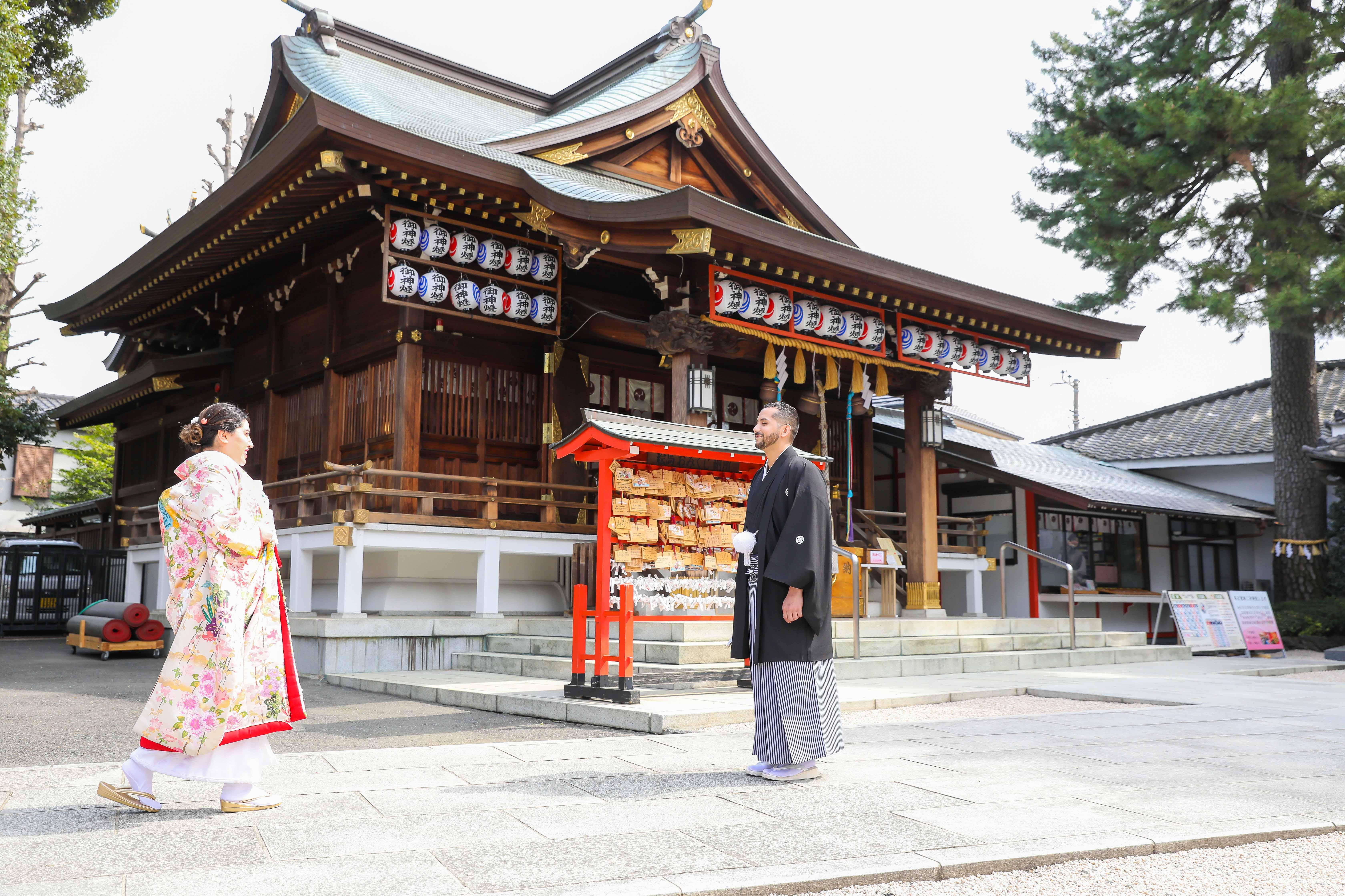 Shinto Shrine Elopement