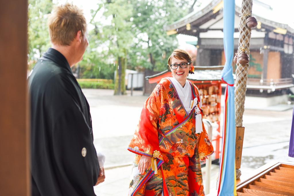 Shinto Wedding, first meet