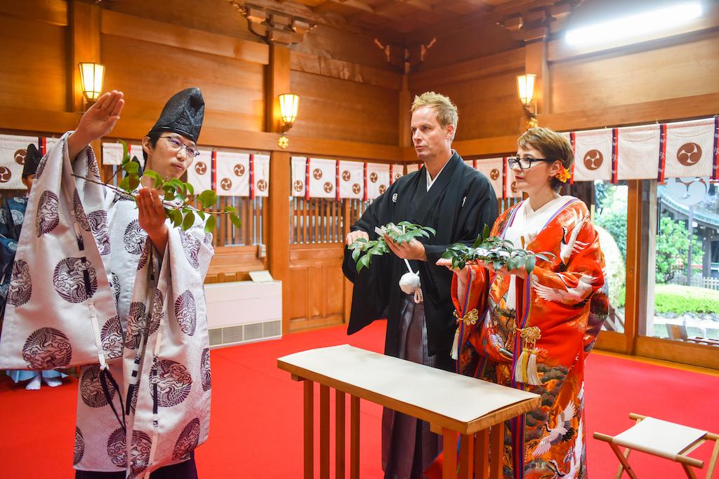 Tokyo Shrine Wedding