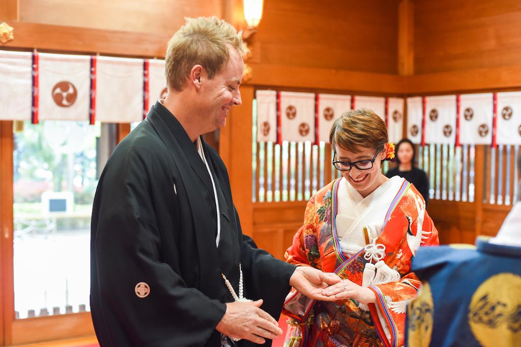 Wedding Ceremony in Japan
