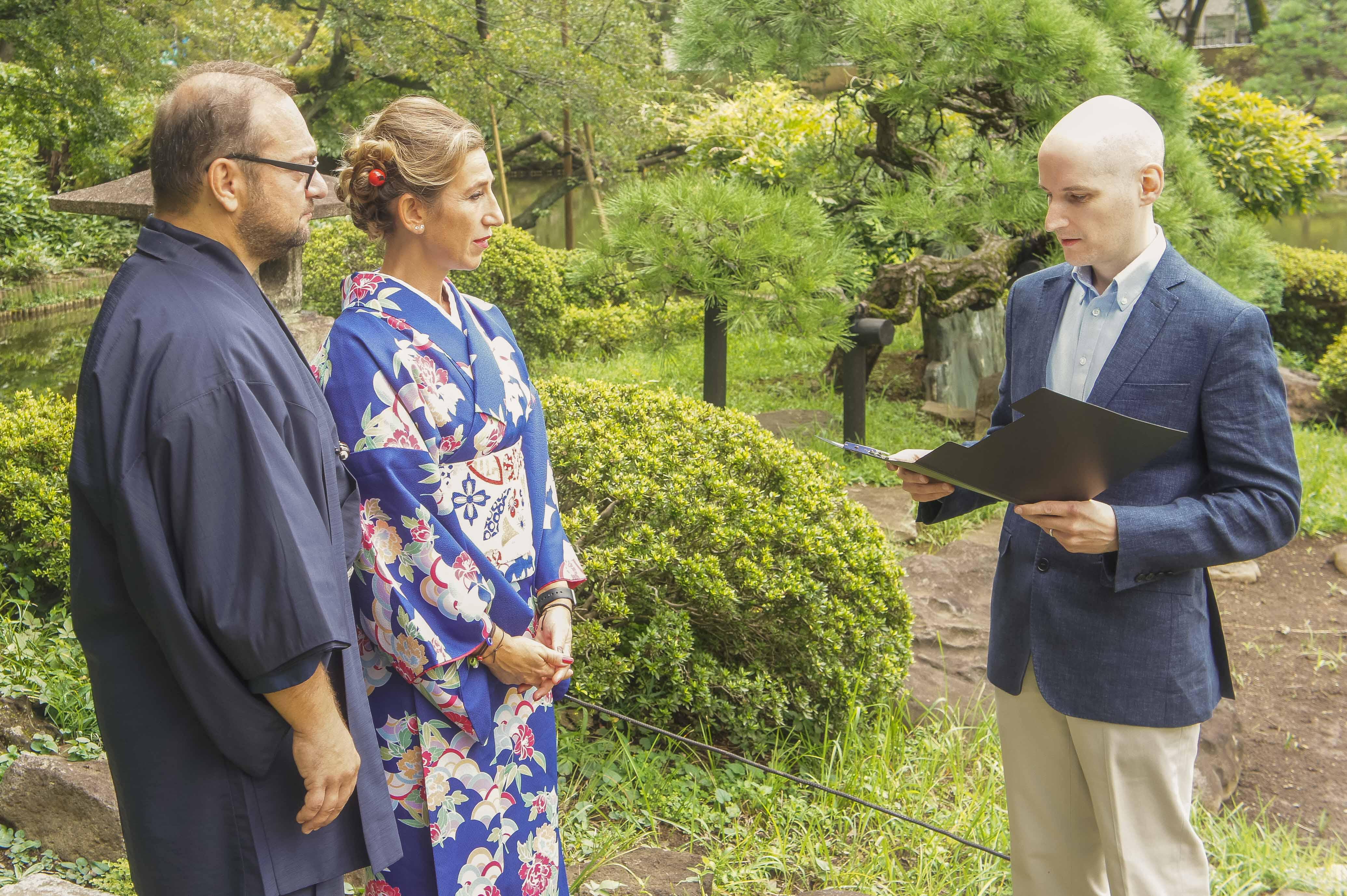 Tokyo Garden Vow Renewal