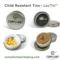 Child Resistant Tins - LocTin