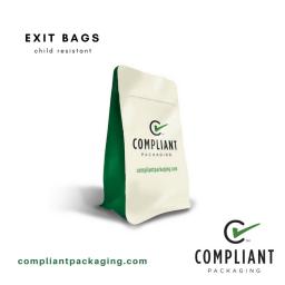 exit bags marijuana packaging