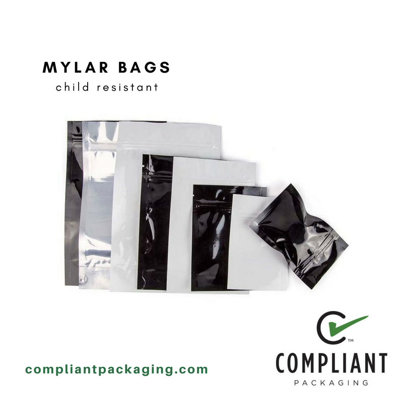 Mylar Bags Child Resistant