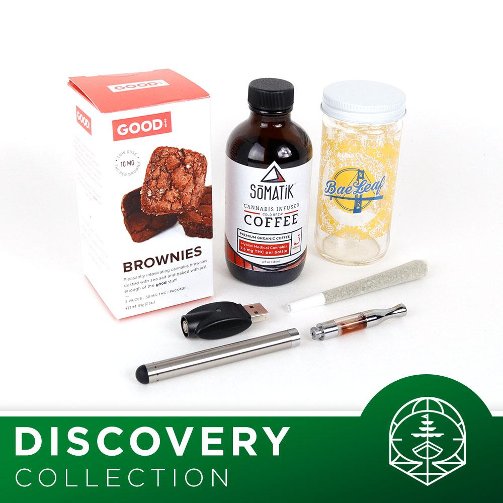 BigMoonSky Cannabis Products 2018-02-08 - The Discovery Collection is your marijuana starter kit.