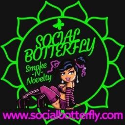 Social Botterfly Smoking Novelties