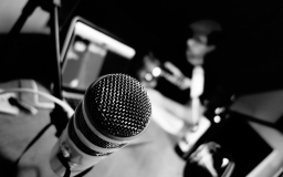 mic black and white