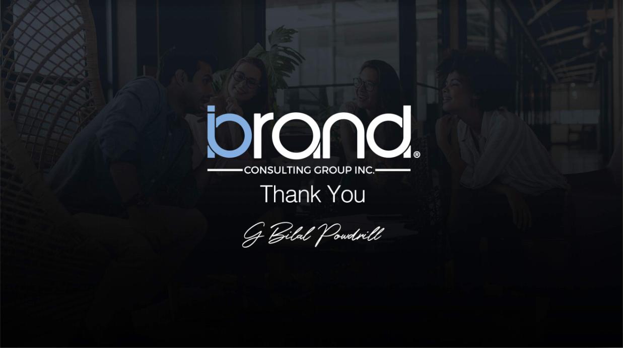 iBrand Group Thank You 10.4.18 Screenshot