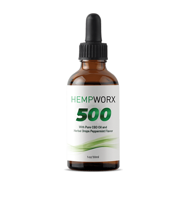 HempWorx CBD Oil Products 2018-10-24 - HempWorx 500mg CBD Oil
