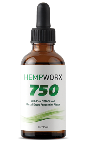 HempWorx CBD Oil Products 2018-10-24 - HempWorx 750mg CBD Oil