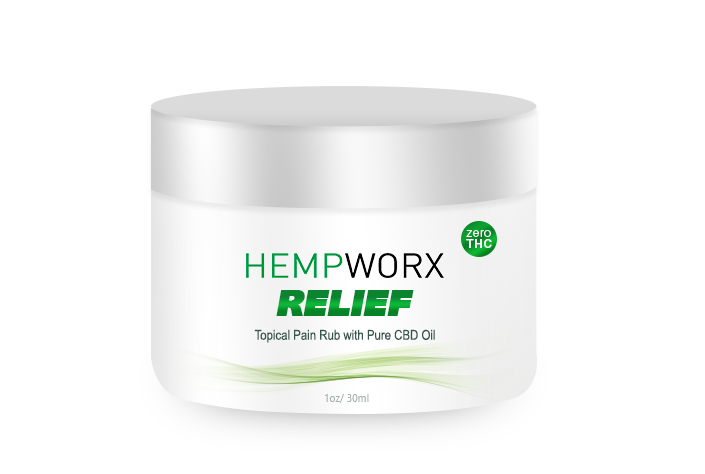 HempWorx CBD Oil Products 2018-10-24 - HempWorx Relief CBD Pain Rub