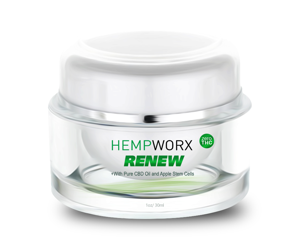 HempWorx CBD Oil Products 2018-10-24 - HempWorx Renew CBD Cream