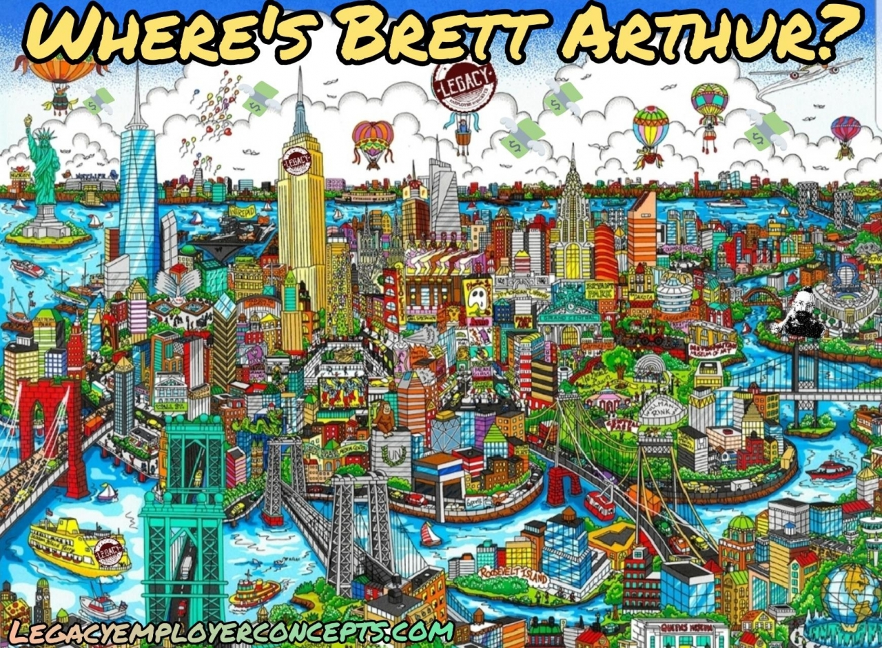 Where's Brett Arthur