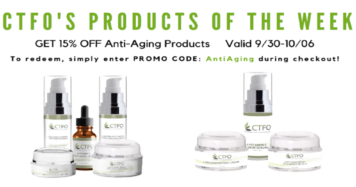 ANTI-AGING PRODUCT SALE