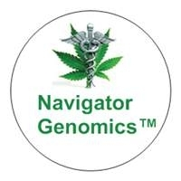Navigator Genomics Round Vial top Label