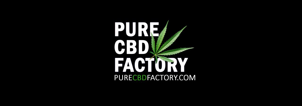purecbdfactory logo black