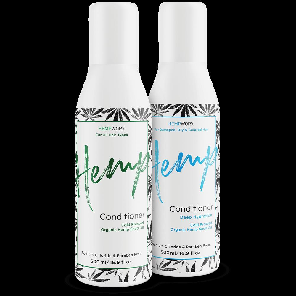 HempWorx HairCare Hemp Products 2020-01-10 - HempWorx Cold Pressed Organic Hemp Conditioners https://directlyhemp.com