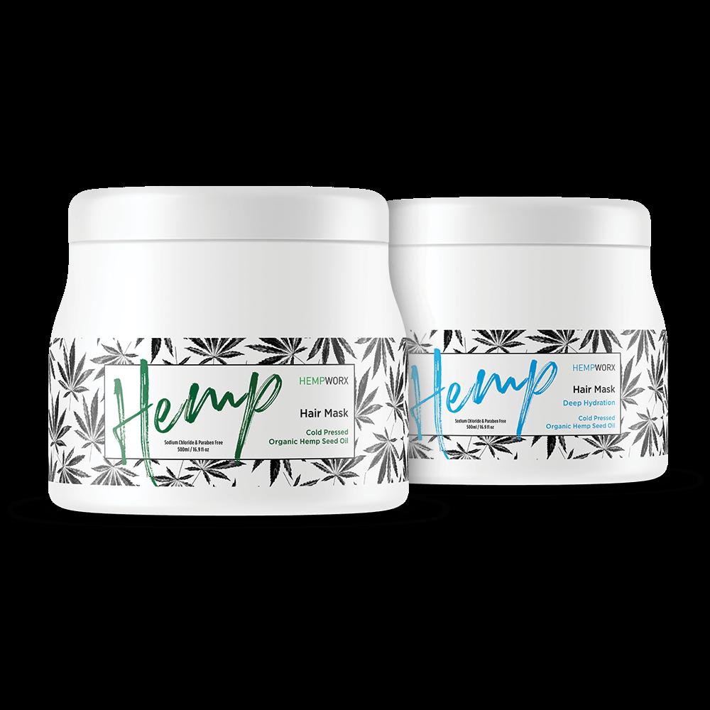 HempWorx HairCare Hemp Products 2020-01-10 - HempWorx Cold Pressed Organic Hemp Hair Masks https://directlyhemp.com
