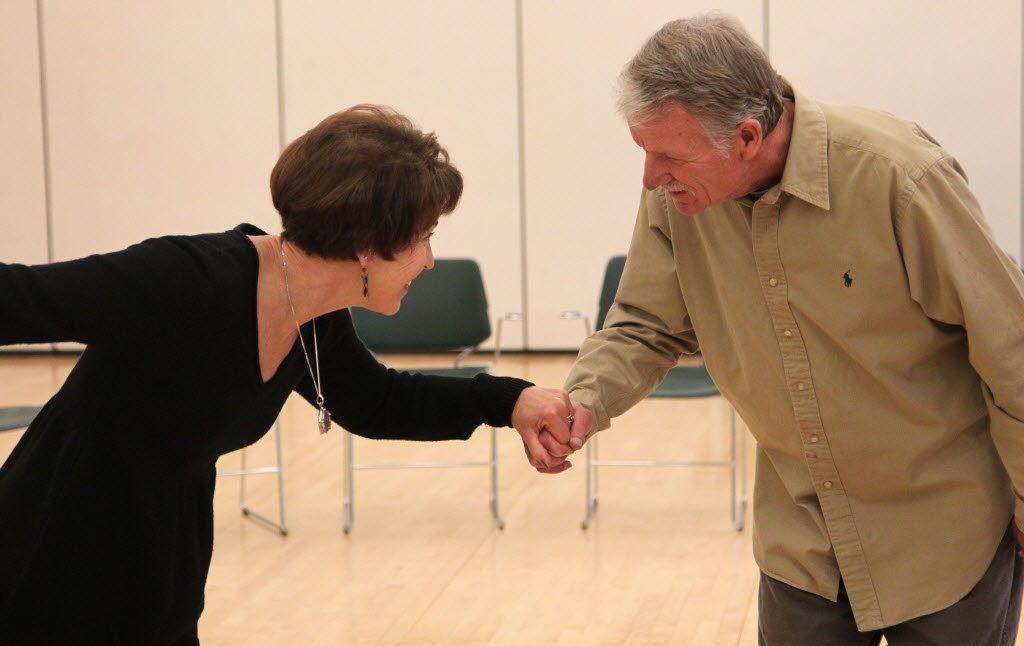 Parkinson's dance couple