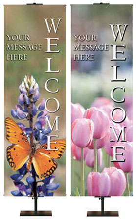 Outdoor Church Welcome Banners