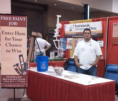 Marquez Printing Interior Painting Booth